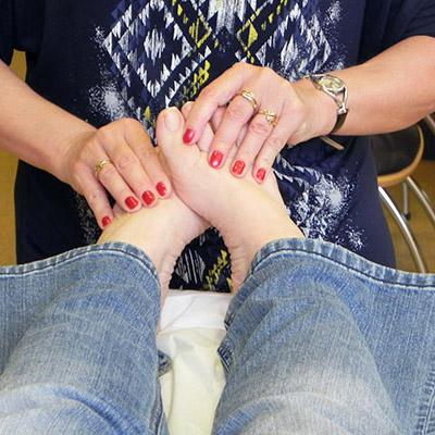 L'interprétation des pieds